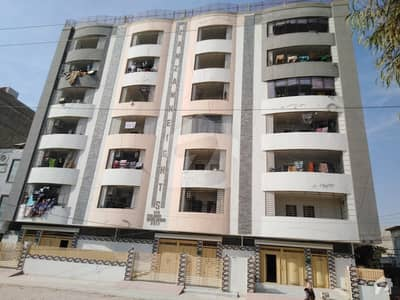 Zam Zam Heights Unit No. 6,  1237 Square Feet Flat For Sale In Latifabad Hyderabad