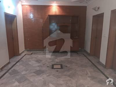 13 Marla Beautiful And Well Constructed House At Ideal Location Is Available For Sale In Johar Town F Block