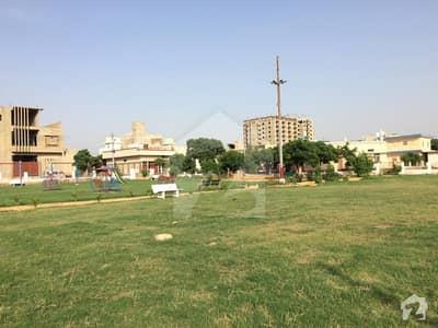 West Open Plot For Sale In Zeenatabad Cooperative Housing Society  Kda Scheme 33