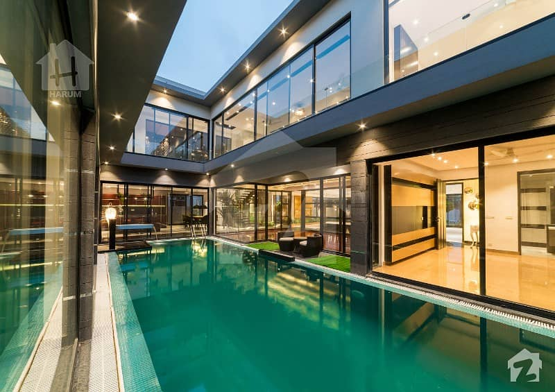 Full Basement Swimming Pool Brand New Bungalow For Sale