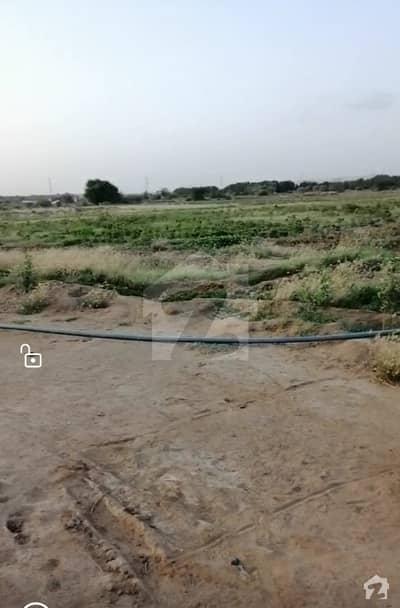 سُپر ہائی وے کراچی میں 80 کنال رہائشی پلاٹ 6 کروڑ میں برائے فروخت۔