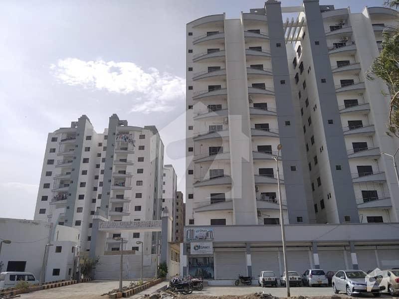 جناح ایونیو کراچی میں 2 کمروں کا 4 مرلہ فلیٹ 95 لاکھ میں برائے فروخت۔