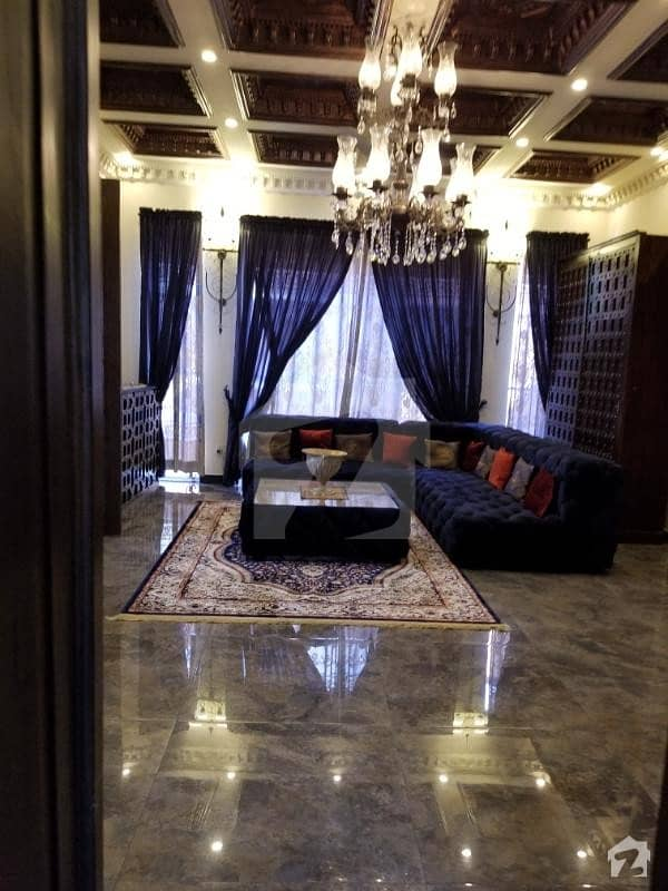 1 Kannal Fully Furnished Brand New Designer House For Sale In Bahria Town & Dha