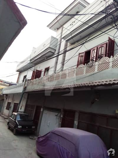 Double Storey House On Corner Location For Sale Street 10 Shah Khalid Colony Chaklala Rawalpindi Near Old Islamabad Airport