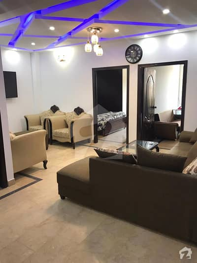 2 Bed Full Furnished Apartment  1st Floor For Sale At Soan Heights B Block Soan Garden Islamabad