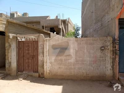 New Constructed Society Plot For Sale Safora Chowrangi Near Monster Gym Karachi