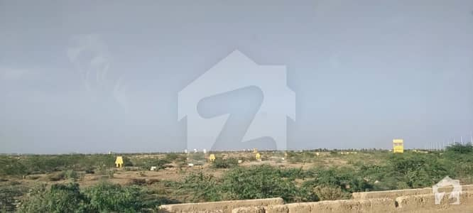 120 sqr yards leased plot for sale in Muslim city