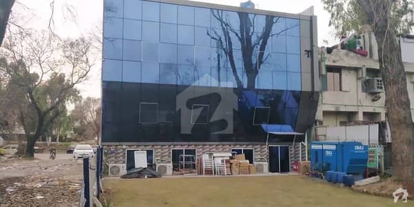 Newly Constructed Brand New Plaza Fully Covered By Beautifying Glass For Sale