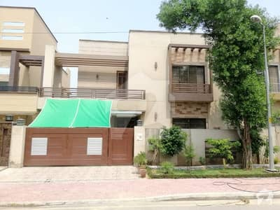 Facing Park 10 Marla Outstanding House For Sale In Awais Qarni Bahria Town Lahore