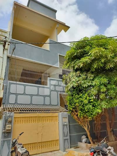 130 Square Yards Ground+2 Ideal West Open And Corner House For Sale