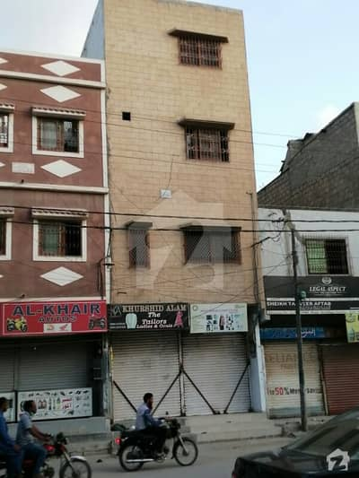 Commercial House Is Available For Sale With Shops