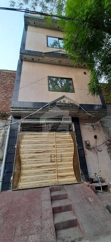 2.5 Marla Triple Storey House For Sale In Raza Abad