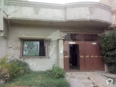 120 Sq Yard Single Storey House For Sale