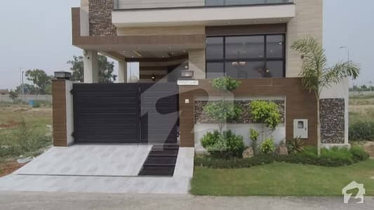 5 Marla Brand New Facing Park House For Sale In Dha