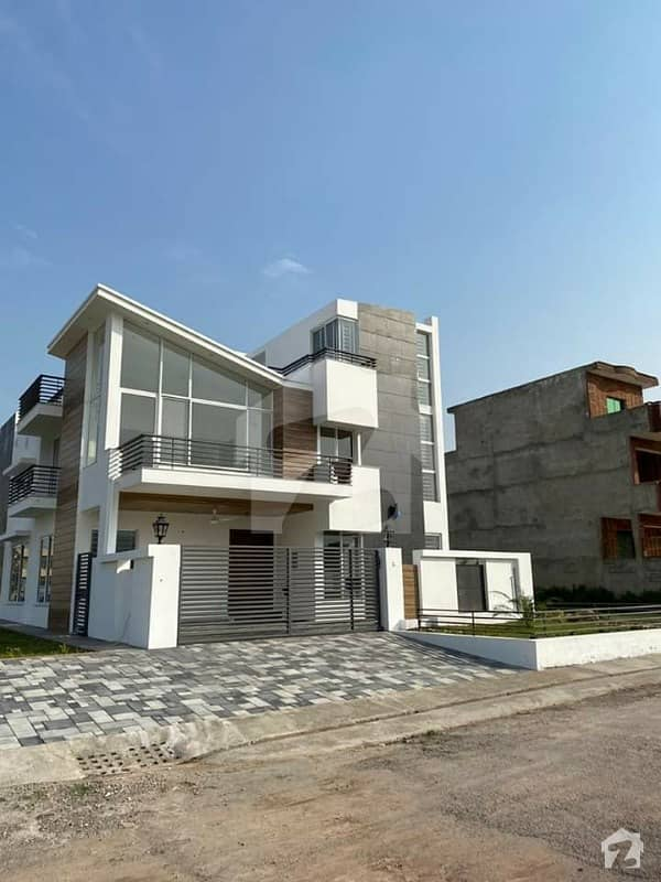 Brand New Luxury Corner House House For Sale In D12 Islamabad