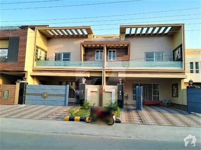 Pair 10 Marla Brand New House For Sale On 60 Feet Road
