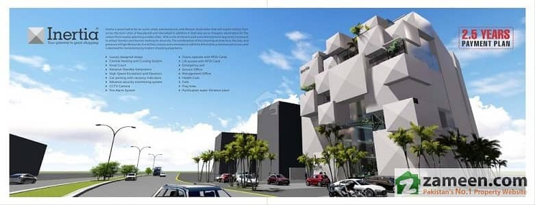 Studio Apartment On Installments For Sale In Inertia Mall  Residency Islamabad
