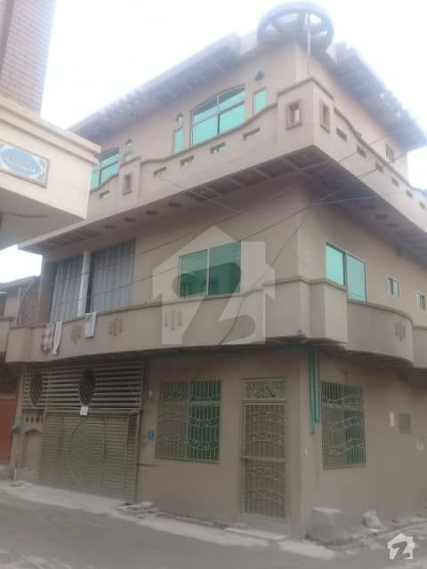 6.5 Marla Double Storey House For Sale In Tarammri Chowk Islamabad House No 1 Street 3 Corner