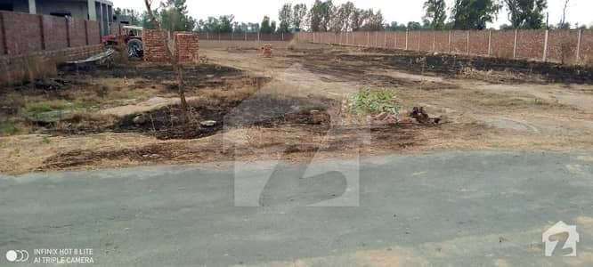4 Kanal Chaudhry Farm House Land For Sale On Barki Road Lahore