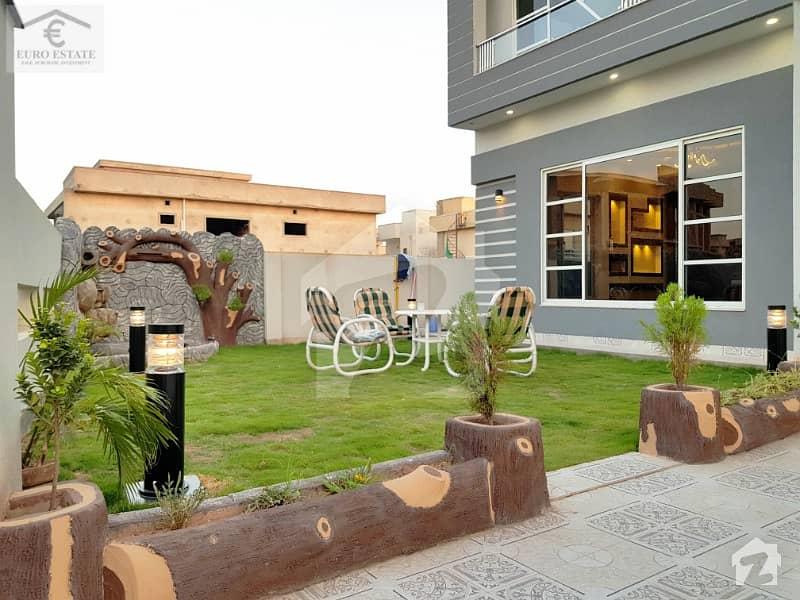 بحریہ ٹاؤن فیز 4 بحریہ ٹاؤن راولپنڈی راولپنڈی میں 5 کمروں کا 1.1 کنال مکان 5.5 کروڑ میں برائے فروخت۔