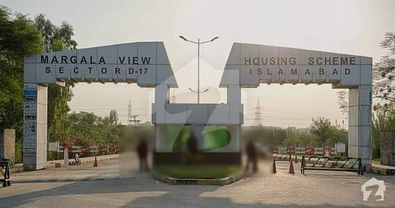 One Kanal Main Boulevard 120 Ft Prime Location Plot Is Available For Sale At North Service Road Sector D-17/2,islamabad