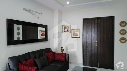 490 Sq Feet Fully Furnished Flat For Sale In Nishter Heights Of Bahria Town Sector E Lahore