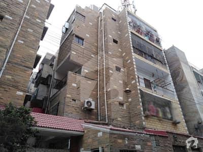 ناظم آباد - بلاک 4 ناظم آباد کراچی میں 2 کمروں کا 4 مرلہ فلیٹ 83 لاکھ میں برائے فروخت۔