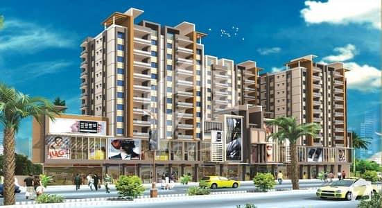 قاسم آباد حیدر آباد میں 3 کمروں کا 8 مرلہ فلیٹ 98 لاکھ میں برائے فروخت۔