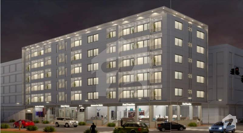 Brand New Apartments For Sale In Atlantic Residence Al Murtaza Commercial Phase 8 Dha