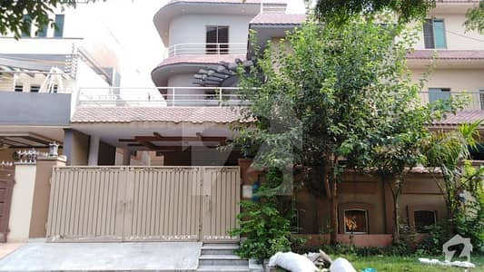 10 Marla House For Sale In B Block Of Pak Arab Society Phase 1 Lahore