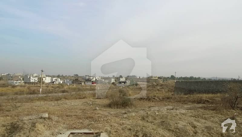 9-Marla Corner Plot For Sale In CDA Sector C-18 Islamabad