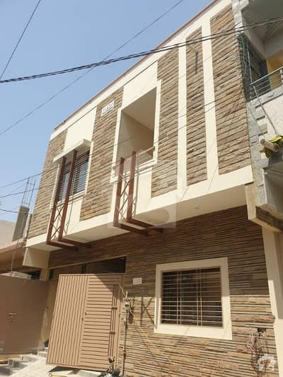 120 Yards West Open Brand New Double Story House For Sale