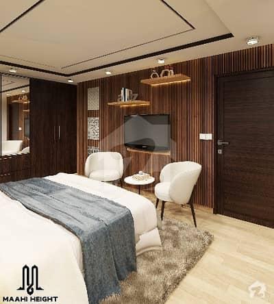 Studio Apartment Facing Boulevard Park And Clock Chowk Near Alfatah Store On 14 Months Instalments