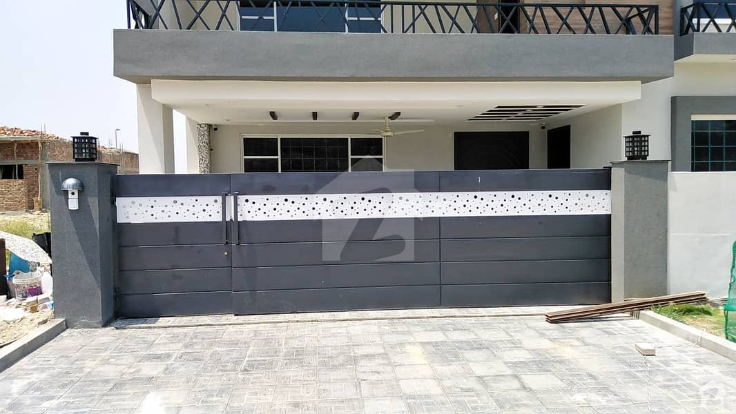 13 Marla Corner Double Unit Model House Available For Sale In Bahria Town Phase 8 Block E-1