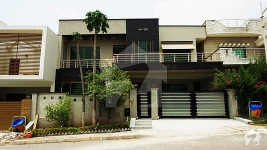 13-Marla House With Modern Architecture For Sale In Sector A Zaraj Housing Scheme Islamabad