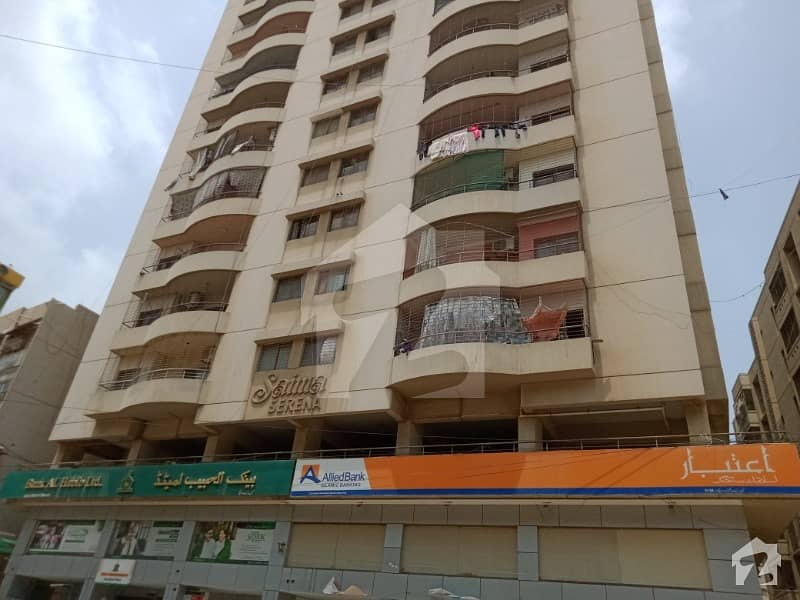 2 Bed Drawing Dining Flat For Rent In Nazimabad No 3 At Saima Project