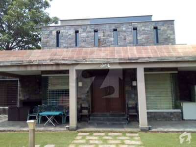 9 Kanal Lush Green Semi Furnished Beautiful Farm House For Sale Best Location Demand 7 Crore
