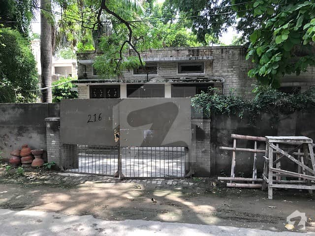 3 Kanal 2 Marla Old House Sarwar Road Cantt Urgent For Sale