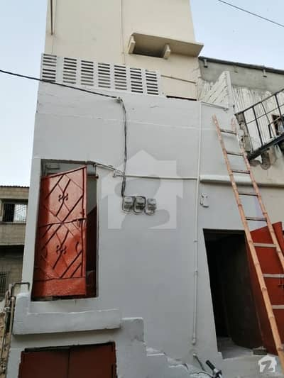 House For Sale Ground Plus 2 Floor 40 Sq Yd Leased Property Precast Roof