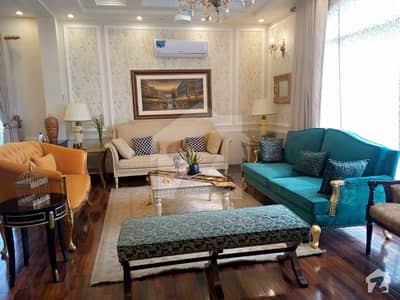 Luxury Elite Class Branded 1 Kanal Furnished House For Rent