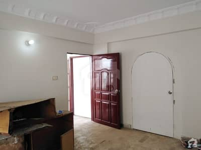 Flat With Roof Is Available For Sale