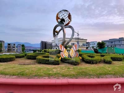 Prime Location Kanal Park Face Back Open Plot For Sale In Bahria Enclave Islamabad Sector E