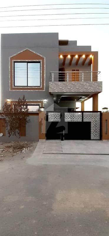 5 Marla Brand New House For Sale In B Block Of Halloki Gardens Lahore