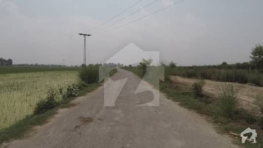 Corner 3 Kanal Farm House Land For Sale At Main Boulevard Of Lahore Greens Road