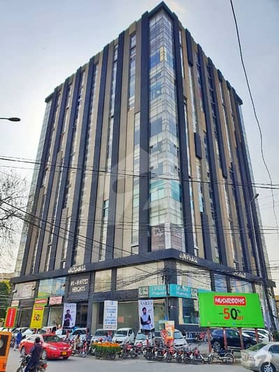 گلبرگ لاہور میں 3 مرلہ دفتر 62 لاکھ میں برائے فروخت۔