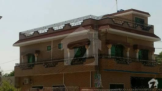 Corner House Double Storey For Sale In Bankers Colony Dhamial Road