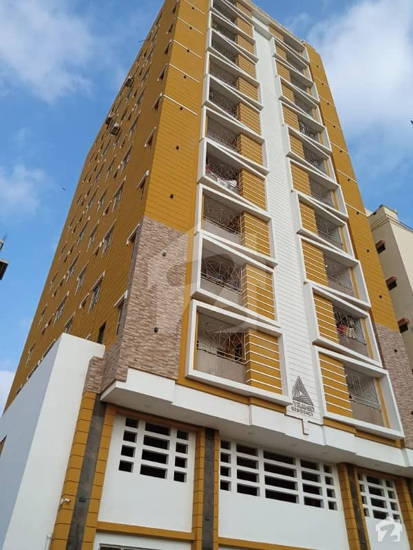 Pyramid Residancy Brand New Project Flat For Saleor  rent