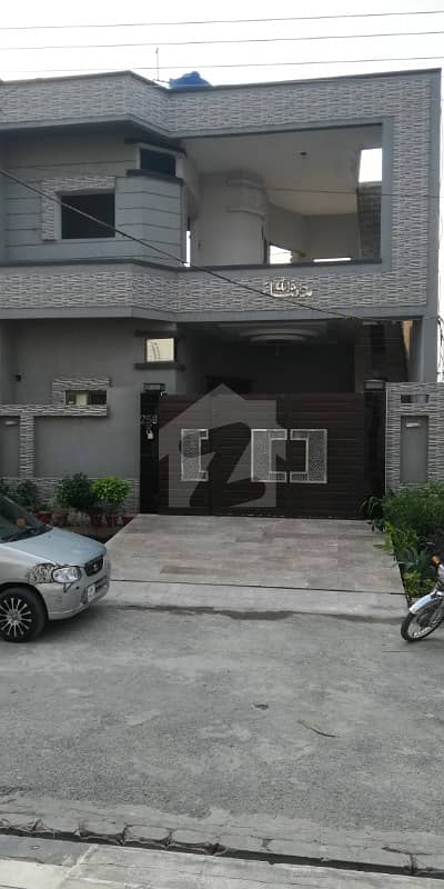6 Marla Beautiful House For Sale In Kamran Block SA Gardens