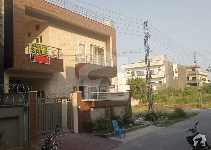 فیڈریشن ہاؤسنگ سوسائٹی - او-9 نیشنل پولیس فاؤنڈیشن او ۔ 9 اسلام آباد میں 5 کمروں کا 8 مرلہ مکان 1.55 کروڑ میں برائے فروخت۔