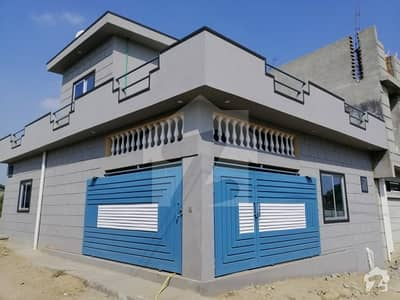 5 Marla New Built Corner House For Sale In Aysha Town Exect Behind Of Watim Dental Hospital